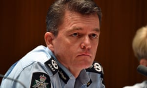 Andrew Colvin was asked about the AFP investigation of the AWU raid during Senate estimates