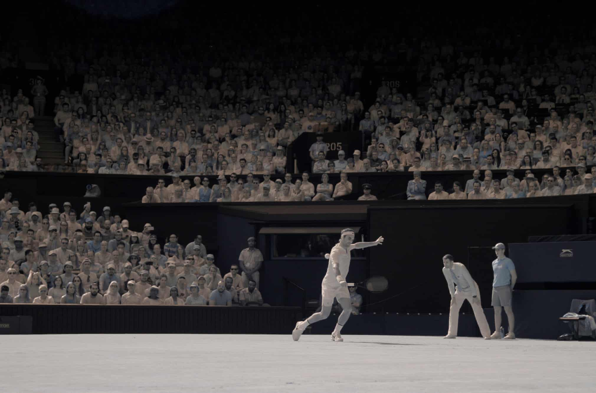 Wimbledon 2017: tennis in infrared – in pictures