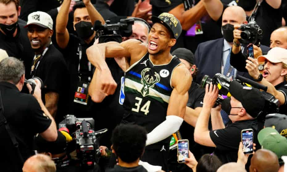 Giannis Antetokounmpo played a near perfect game to clinch the NBA finals for the Milwaukee Bucks