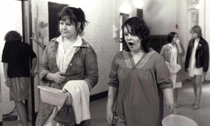 In Scrubbers, her first film role, directed by Mai Zetterling.