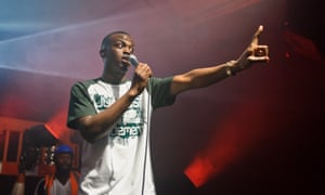 George The Poet performs at Village Underground in London