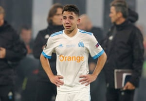 Whilst Marseille's Maxime Lopez obviously doesn't.