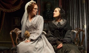 Keira Knightley (l) and Judith Light: the play runs for two-and-a-half hours and seems longer.