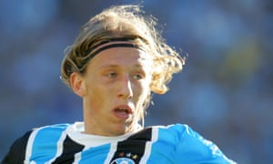 Lucas was an attacking midfielder when he joined from Gremio for £5m in 2007.