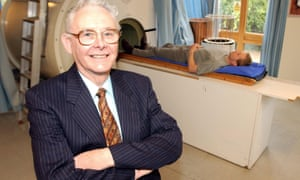 Peter Mansfield, pioneer of MRI body scanning technology