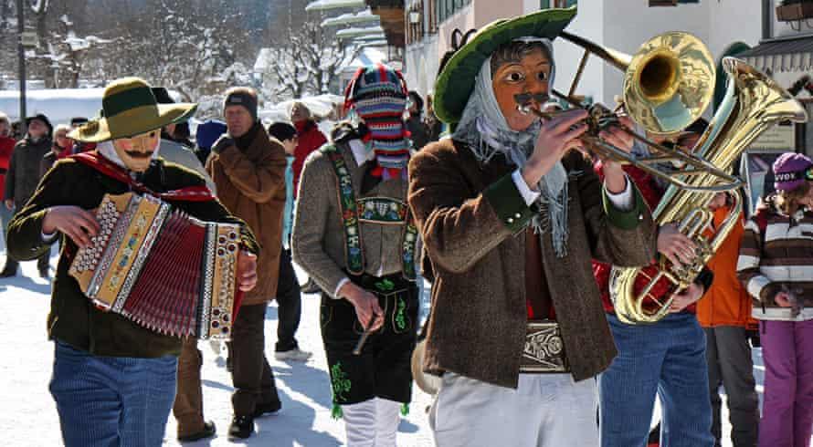 Mittenwald carnival, Bavaria