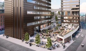 Gary Neville's Jackson's Row redevelopment, Manchester