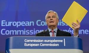 Chief Brexit negotiator Michel Barnier.
