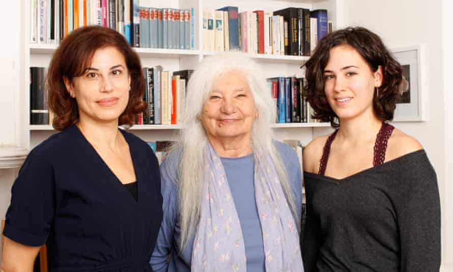 Natasha Walter, above left, with her mother, Ruth, and her 16-year-old daughter, Clara