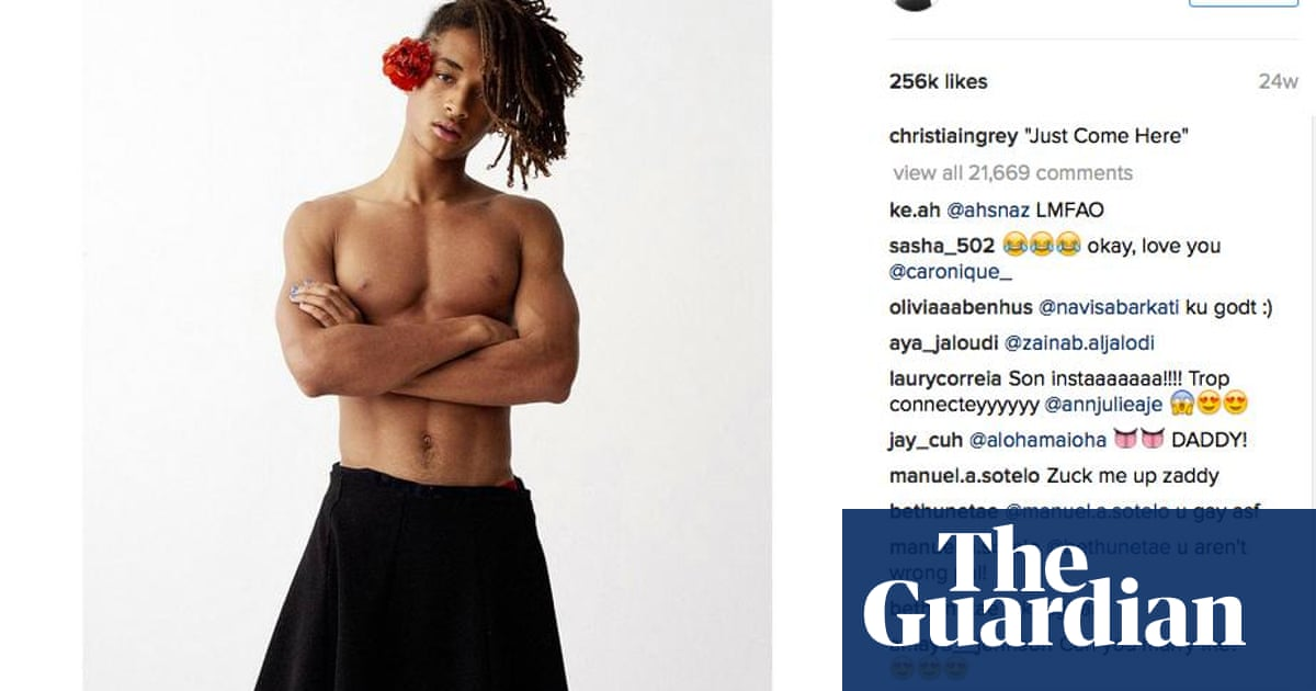 Should we rethink men in skirts? | Fashion | The Guardian