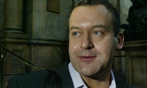 Diana's former butler, Paul Burrell, leaves a hotel in central London