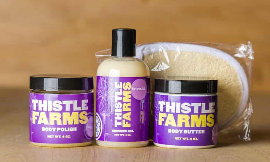 Thistle Farms products are made by female survivors of prostitution, trafficking and addiction.