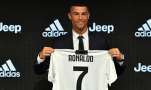 brand new 4e780 0a5fa Cristiano Ronaldo vows to make mark at Juventus after ...