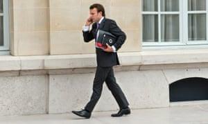 Emmanuel Macron, a man in a hurry.