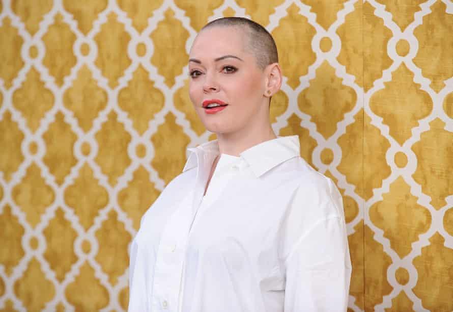 Actor Rose McGowan