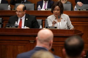 House Judiciary Committee member Val Butler questions Matthew Whitaker.