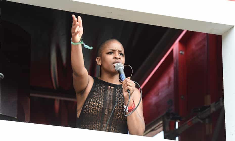 Julie at Wireless festival in 2018.