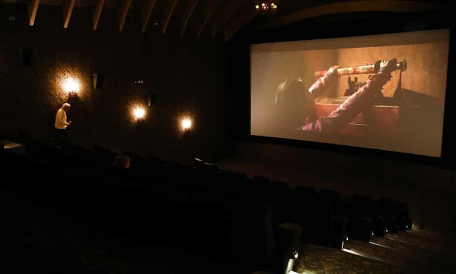 A cinema in New Zealand