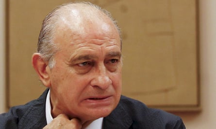 Jorge Fernández Diaz, Spain's interior minister