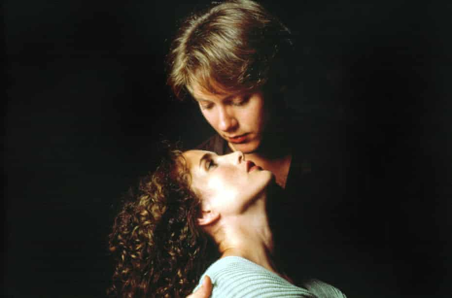 James Spader and Andie MacDowell in sex, lies and videotape.