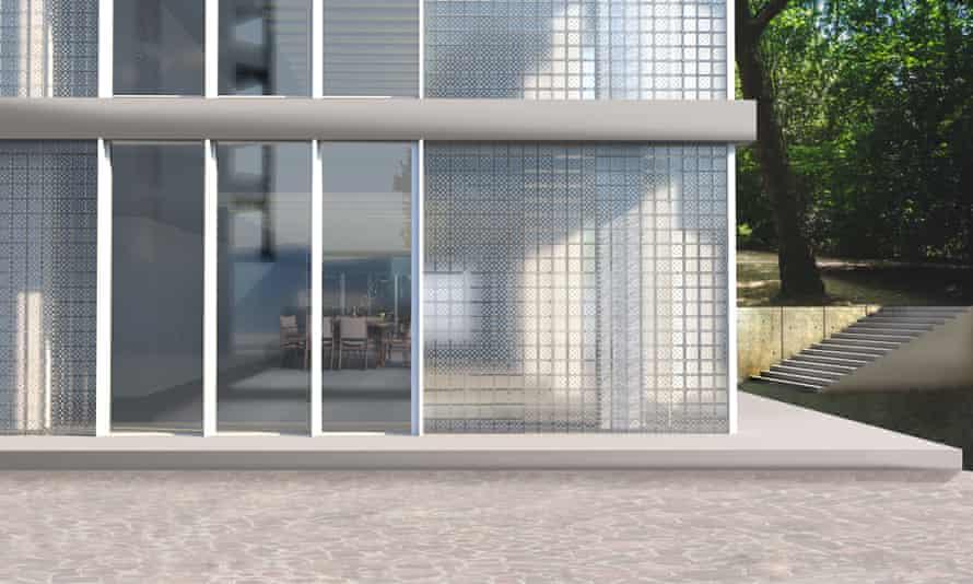 Photovoltaic glass bricks