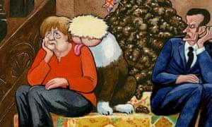 Steve Bell on Boris Johnson, Nigel Farage and a 'non