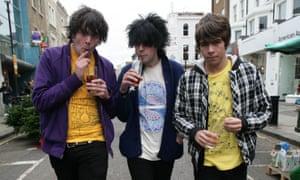 Klaxons in 2006.