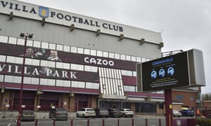 Villa Park will host the FA Cup third-round tie against Liverpool on Friday night.