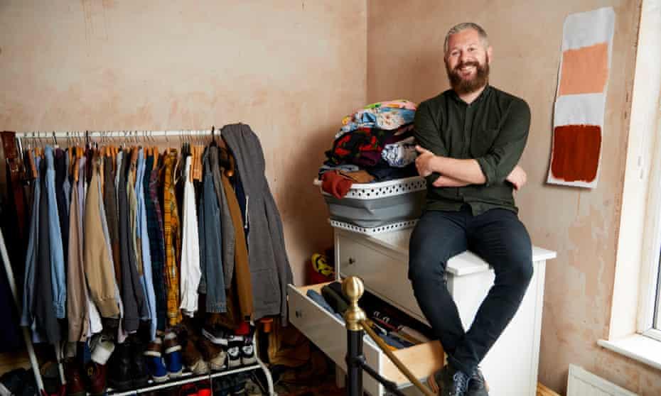 Luke Geoffrey followed Marie Kondo's decluttering advice but found it difficult to maintain.