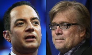 Reince Priebus and Stephen Bannon
