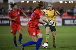 Ellie Carpenter is only 19 but is already a key member of the Matildas squad.