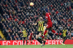 Mane leads the opening match for Liverpool.