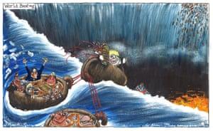 Martin Rowson cartoon 16.01.20