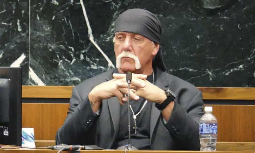 """Professional wrestler Hulk Hogan testifies in his case against the news website Gawker in St. Petersburg FloridaTerry Bollea, known as professional wrestler Hulk Hogan, testifies in his case against the news website Gawker in St. Petersburg, Florida March 7, 2016. Hulk Hogan told a Florida jury on Monday he was """"completely humiliated"""" by a secretly recorded sex tape published online by Gawker, as he seeks $100 million in damages from the website in a case testing celebrity privacy rights and freedom of the press in the digital age. REUTERS/Boyzell Hosey/Pool TPX IMAGES OF THE DAY"""