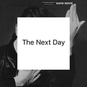 David Bowie, The Next Day album cover