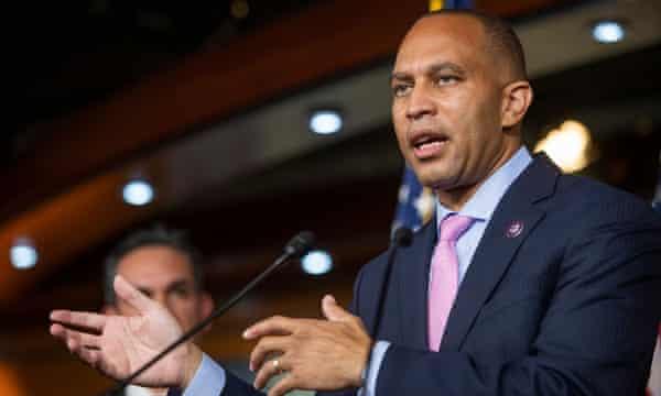 Representative Hakeem Jeffries is one possible successor to Pelosi as House speaker.