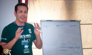 Jamel Jrijer, a marine program manager with the World Wide Fund for Nature (WWF).