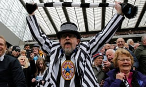 Newcastle fans appear to have been the first to utilise Earth, Wind & Fire's September