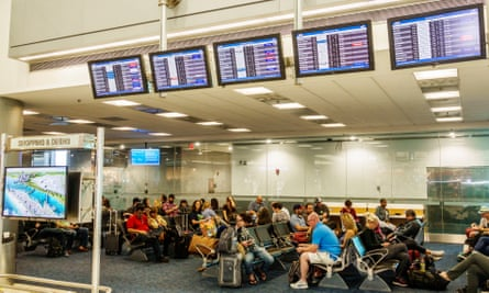 Miami international airport.