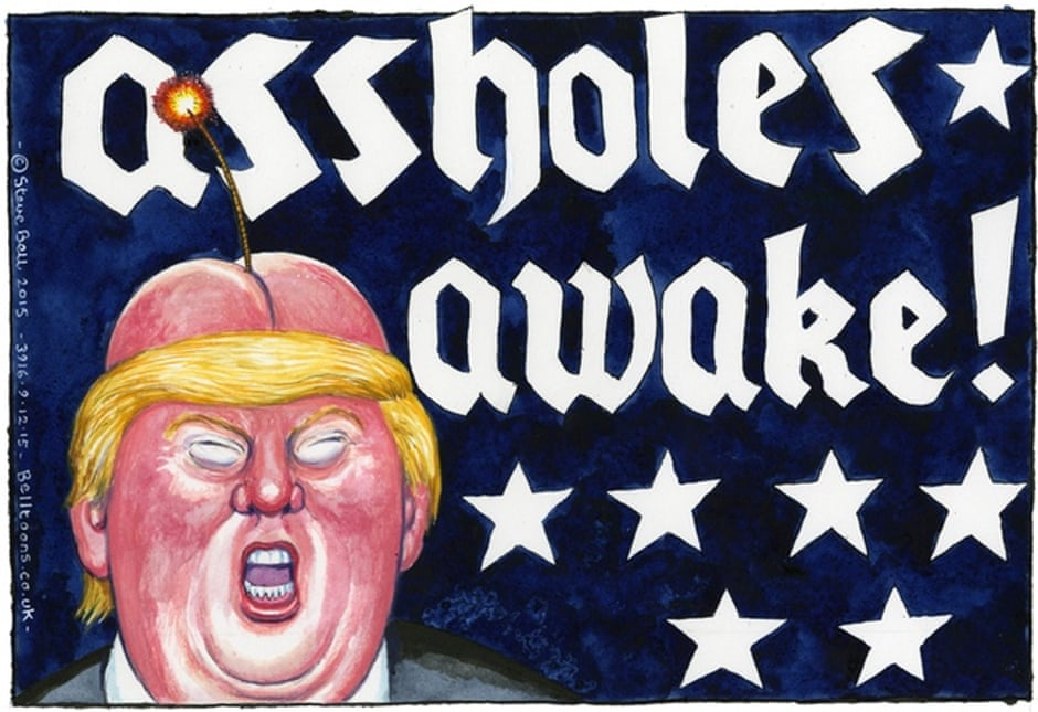 Image result for steve bell trump