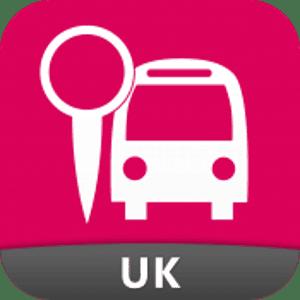 Uk bus checker icon.