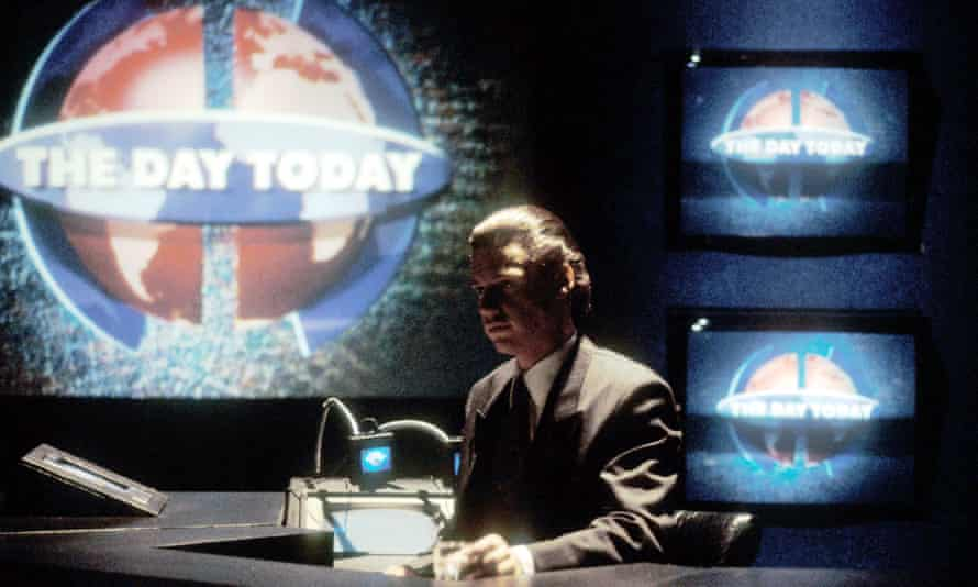 Chris Morris in The Day Today.