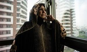 Um Qusay recalls the execution of men in her village.
