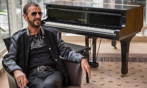 Ringo Starr: 'It's an honour and a pleasure to be considered and acknowledged for my music and my charity work, both of which I love.'