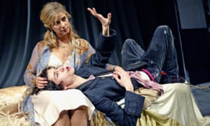 As Hamlet, with Imogen Stubbs as Gertrude.