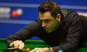 Ronnie O'Sullivan is a five-time champion but will have to pull out the stops to come back against Ding Junhui.