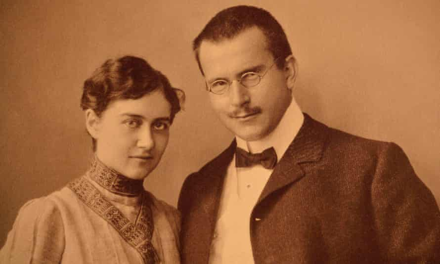 Emma and Carl Jung in Vienna, 1903, at the start of their marriage.