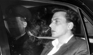 Brady in custody in 1966; later that year he was given a life sentence for his part in the Moors murders.