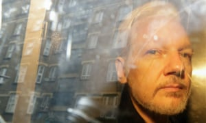Julian Assange pictured in May 2019.