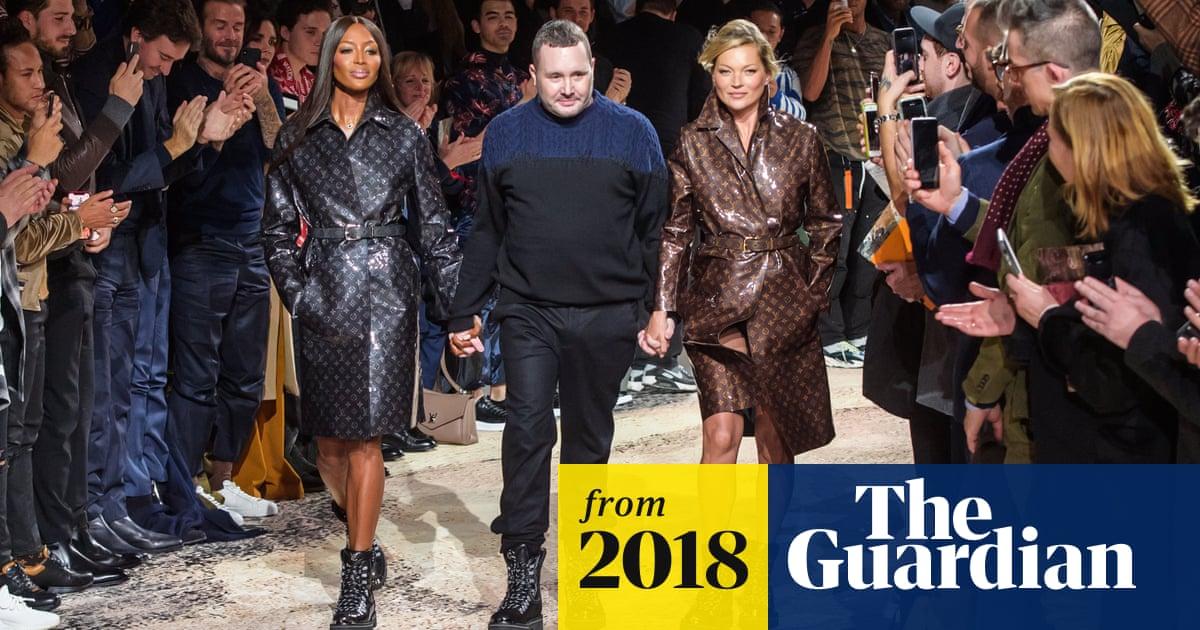d5939d1a51e7 Kim Jones s last Louis Vuitton show ends in super-charged bang ...